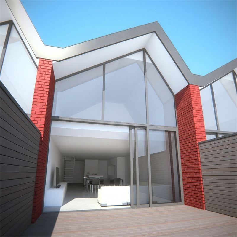 Bâtiment B : Appartement-loft en duplex - terrasse privative